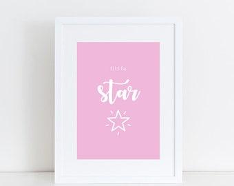 Little Star Print