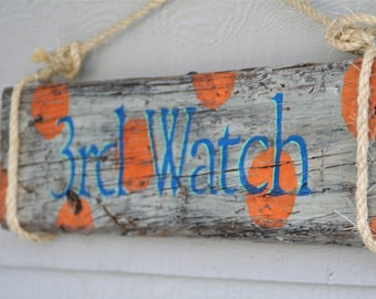 Custom Beach House Name Sign- Personalized with house name or family name