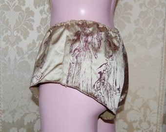 Printed french Knickers