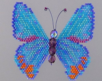 Creon Skipper Butterfly  Pattern and Tutorial