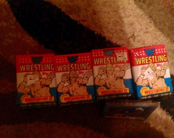 1987 WWF trading cards