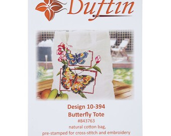 Butterfly Tote Needlework Kit