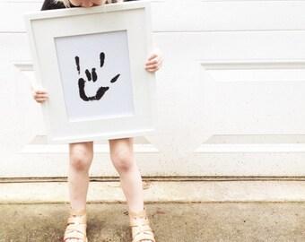 I Love You Sign Print  |  Hand Sign  |  I Love You Sign Language