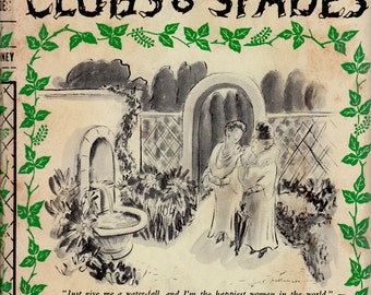 Garden Clubs & Spades by Laurence McKinney, illustrated by Helen E. Hokinson