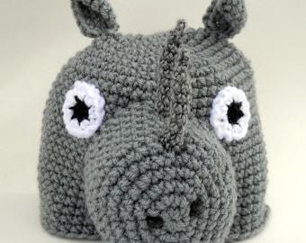 A Rhinocerous Hat- Rhi Not?