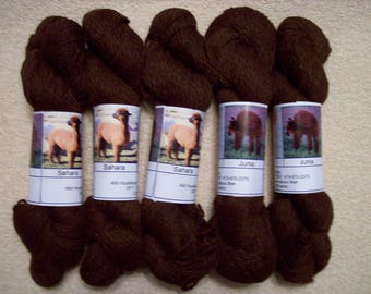 Alpaca Yarn – Saharah, Caleb, and Junia (2 ply worsted weight)