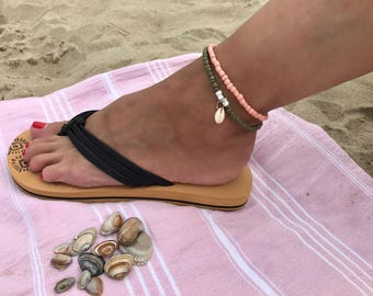 Old Pink Ankle Strap