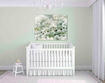 pastel green wall art - flower photography - floral print - flower photos