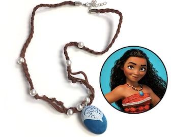 Princess Moana Necklace - Inspired by the movie Moana, Cosplay, jewelry, Moana accessories, Moana Costume