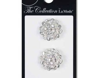 Cute Crystal Cluster Buttons