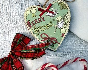 Heart decorative vintage style