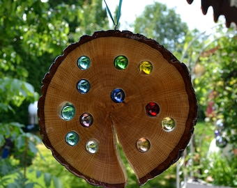 Sun catcher 18 cm-Oak