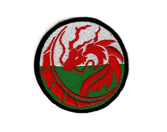 DRAGON 1 with a WELSH flavour Raggy Patch