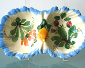 Made in Italy Ceramic Relish Dish