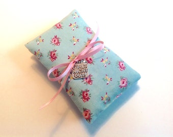 2 Lavender Sachets, Girls Night Out Scented Sachets, Set of 2 Lavender Sachets, Dried Lavender filled Little Pillows, Eco Friendly Cotton