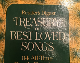 Readers Digest Festival of Popular Songs Music Book