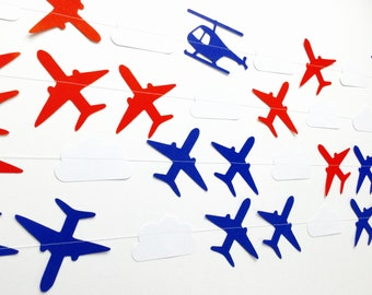 Jet Set Go Paper Aircraft Garland