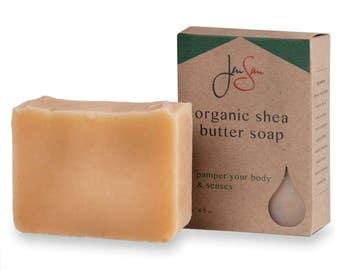 Soap for Men - Citrus Pine Men's Natural Bar Soap - Organic