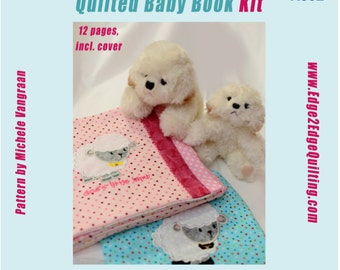 Quilted Baby Book Kit