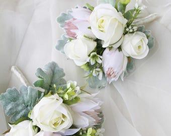 Ladies corsage, Mothers Corsage, Silk Flower Corsage, Artificial Corsage, Wedding Corsage, School Formal / Prom Corsage