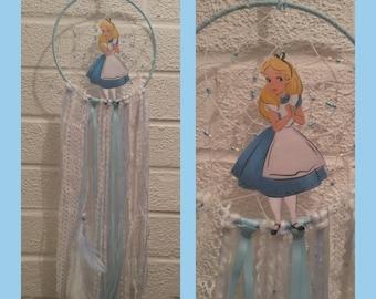Alice inspired dreamcatcher