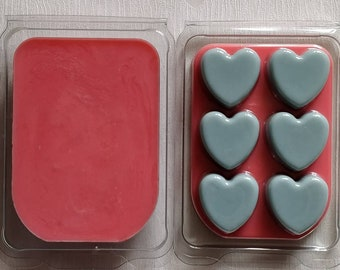 TOFFEE APPLE soy wax clamshell