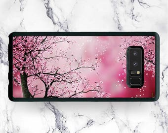 Galaxy Note 8 Japan Sakura Blossom Phone Case, for Samsung Galaxy Note 8 Note 5 Note 4 Pink Floral Spring Nature Japanese Art Cover