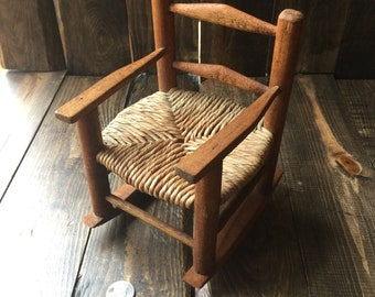 Toy Rocking Chair for doll