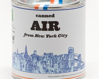 Original Canned Air From New York City, a gag souvenir