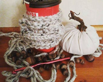 Mitten Style Reusable Cup Sleeve