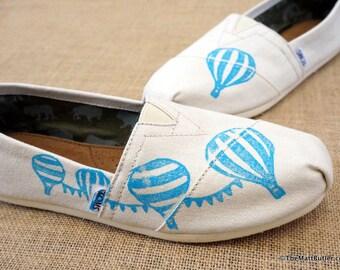 Hot Air Balloon Custom TOMS Shoes
