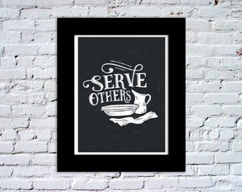 Serve Others Color Print