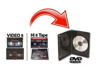 Transfer 8mm Tapes to DVD