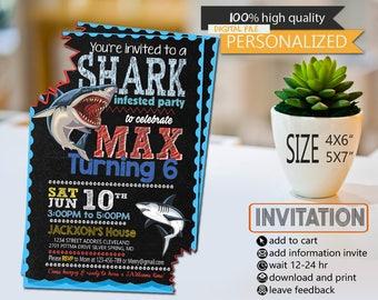 shark, shark birthday, shark card, shark invitation, shark birthday party, shark birthday party card, shark invitations, shark party, sharks