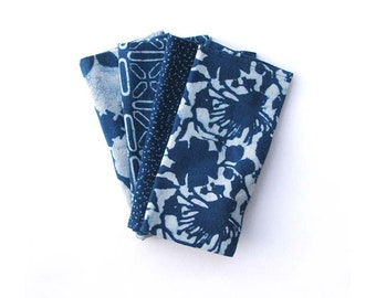 TABLE NAPKINS blue mix and match napkin indigo cotton table linen home kitchen dining table organic cotton napkin Set of 4 - Mix and Match 2