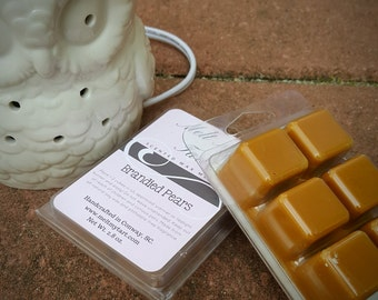 Brandied Pears Scent - Soy Wax Melts - Soy Wax Tarts - Scented Wax Melts - Candle Melts - Scented Wax Cubes
