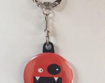 Cute Monster Keychain Handmade Keychain, Geekery, Keychains, Monsters, Cute Monsters, Monster Gifts