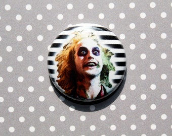 Beetlejuice- One Inch Pinback Button magnet