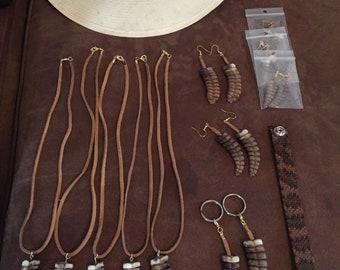 Rattlesnake keychain