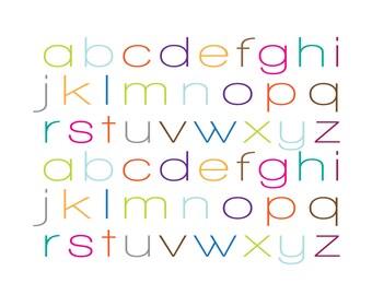 Mod Alphabet Print — DIGITAL DOWNLOAD