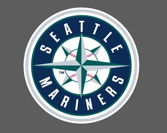 Full Color Seattle Mariners - Die Cut Decal/Sticker