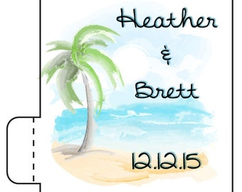 12 Lip Balm Beach Favors - Beach Wedding Lip Balms - Beach Party Favors - Island Wedding - Lip Balm Favors