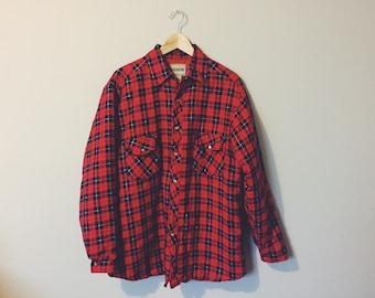 Vintage 'DoubleWear' Flannel Work Jacket