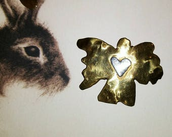 Brass angel pendant/charm, angel pendant