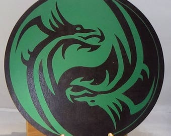 Individual Wooden Dragon Rounds