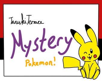 Pokémon Themed Plush Mystery Box!