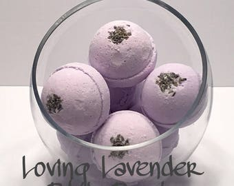 Loving Lavender Bath Bomb
