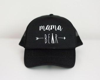 Mama Bear hat -  Mama Bear trucker hat