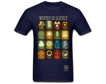 Women In Science Shirt - Inspirational Shirts - Women in STEM - Science T-shirt - Science Gift - Marie Curie Jane Goodall -  Scientist Gift