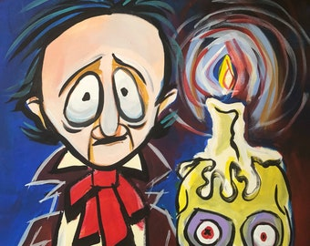 Poe by Candle by Mark Redfied (2018)